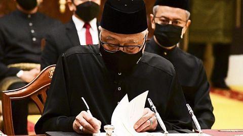 Ismail Sabri angkat sumpah jadi PM M'sia