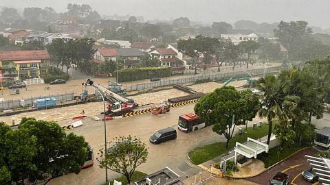 Hujan sebelah pagi sebabkan banjir kilat di beberapa tempat