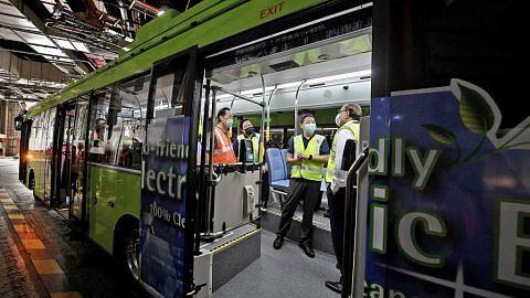 20 bas elektrik awam dengan cas lebih pantas sedia berkhidmat