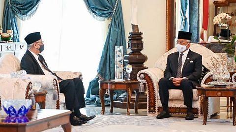 Ismail Sabri persembah usul senarai Kabinet kepada Agong