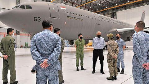 Pesawat tangki A330 RSAF bantu pindah pelarian dari Afghanistan