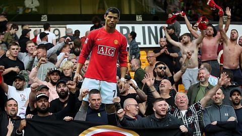 Ronaldo di bibir peminat bila United benam Wolves