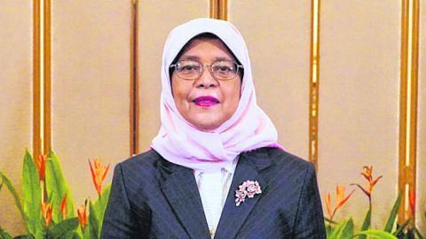 Presiden Halimah gesa warga SG papar empati, bantu mereka yang alami demensia