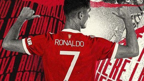 Jersi nombor 7 milik Ronaldo