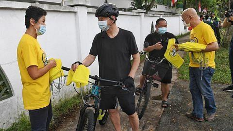 Kempen 'tunggang selamat' untuk penunggang basikal di Sembawang