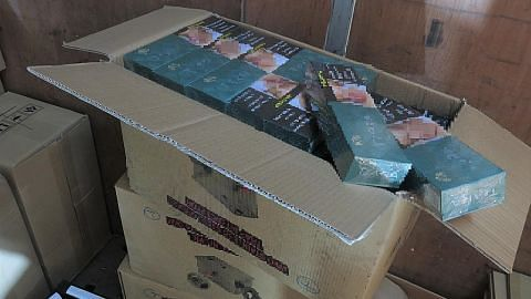 6,000 karton rokok tidak bayar cukai dirampas, lima diberkas