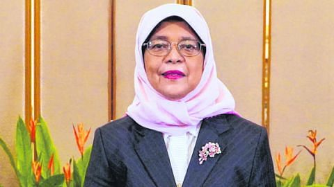 Presiden Halimah: Atlet Team SG inspirasi kepada semua warga