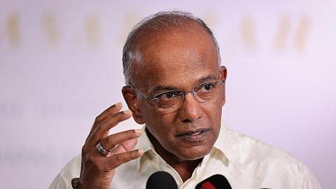 Shanmugam: Hubungan baik masyarakat antara cara SG tangani isu ekstremisme