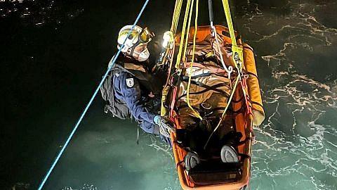 Operasi SCDF pindahkan anak kapal yang alami strok