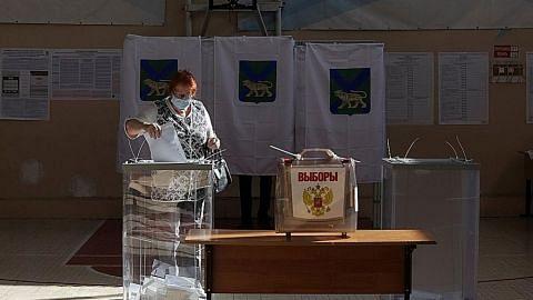 Parti pro-Putin dijangka menang dalam pilihan raya parlimen