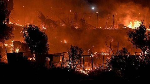 Kebakaran lagi di Greece akibat pemanasan global