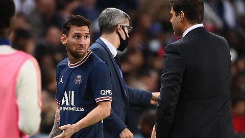 Messi diganti kerana masalah kecederaan: Pochettino
