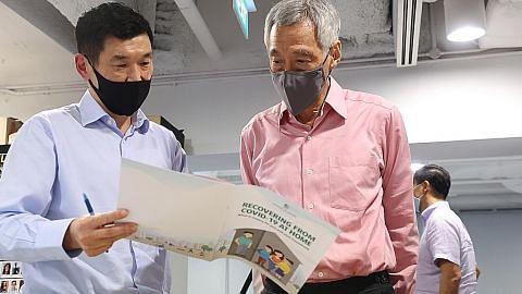 SG lakukan terbaik pastikan pesakit Covid-19 dijaga dengan baik: PM Lee