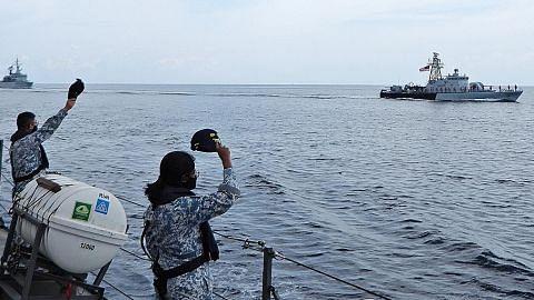 Angkatan Laut SG, Malaysia selesai jalani Latihan Malapura
