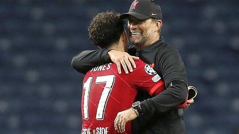 Jones, 18 tahun, tunggak kemenangan Liverpool