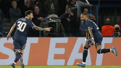 Gol pertama Messi bantu PSG jinakkan Man City