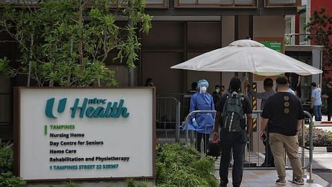 BERITA PENULARAN COVID-19 DI SINGAPURA Kemudahan rawatan seperti di rumah untuk warga emas dijangkiti Covid-19