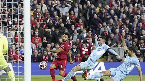 City bangkit dua kali halang Liverpool menang