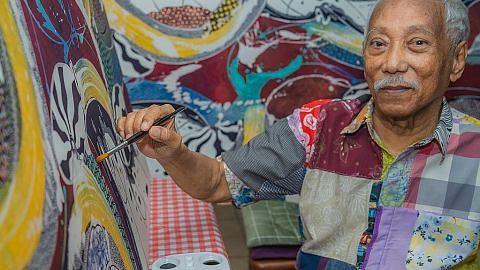 Seniman batik tersohor Sarkasi Said sakit setelah 2 ginjalnya rosak