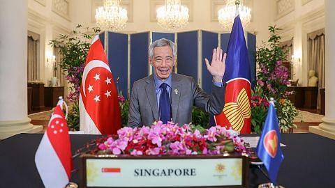 PM Lee usul bidang perkukuh lagi jalinan Asean, Australia