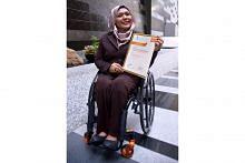 Kecacatan bukan penghalang buru kemahiran