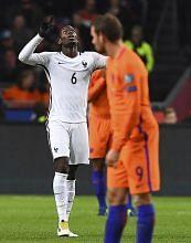 Pogba cemerlang, Belanda kecundang KELAYAKAN PIALA DUNIA 2018