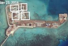 China pasang senjata di kesemua tujuh pulau buatan di Laut China Selatan