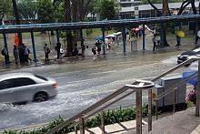 Banjir kilat di Orchard Rd
