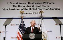 Pence: Perjanjian dagangan bebas AS-Korea S akan disemak