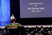 WAWANCARA PERDANA MENTERI LEE HSIEN LOONG BERSAMA SALURAN TELEVISYEN CINA PM Lee: Mengapa Othman Wok mahu bina masyarakat S'pura setara