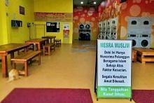 Pemilik kedai dobi di Muar 'untuk orang Islam saja' minta maaf