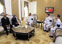 ' Raja Bhumibol mulakan hubungan baik S'pura-Thai'