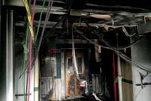 Kebakaran di lobi lif Blok 8 North Bridge Road