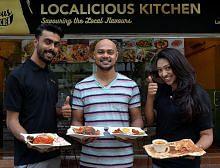 Penduduk 'baru' sajikan makanan 'lama' setempat