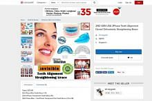Pakar gigi: Waspada beli pendakap gigi plastik dalam talian