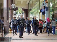 Pasukan tindak cepat polis dikerah ke kawasan popular negara