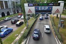 ERP rates at two gantries on Marina Coastal Expressway to be reduced