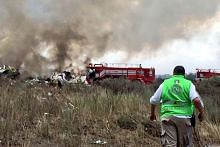 An Aeromexico plane crashed in Mexico's northern state of Durango on Tuesday with the state's governor saying the accident happened close to an airport.