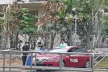Driver found dead in taxi in Hougang