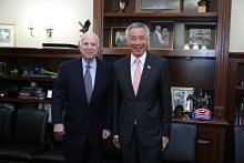 John McCain 'a friend and supporter for Singapore': PM Lee