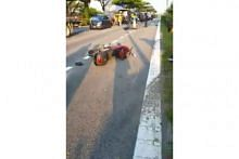 Malaysian man dies after motorbike accident on AYE near Jalan Boon Lay exit
