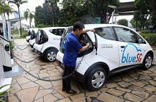 3,300 daftar kongsi kereta elektrik BlueSG