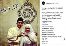 Adi Putra nikah semula bekas isteri pertama