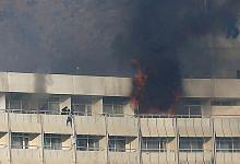 Lebih 30 maut dalam serangan hotel Kabul