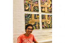 Teroka pasaran seni luar Singapura, dibimbing mentor