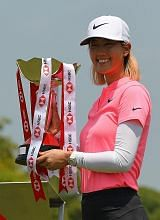 Michelle Wie menang Kejohanan Dunia Wanita HSBC