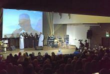 Acara agama, deklamasi puisi di Masjid Sultan