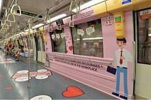 LTA, SBS Transit lancar kereta api bertema, didik penumpang agar peka dan prihatin