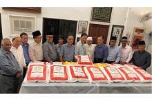 Buddhist Lodge derma 30 tan beras bagi umat Islam buka puasa