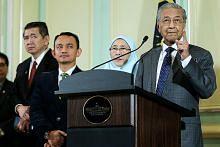 Mahathir: Hubungan dagangan bursa saham M'sia-S'pura dikaji semula